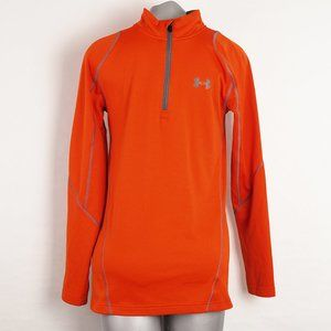 Under Armour Coldgear Fitted Long Sleeve Zip Small